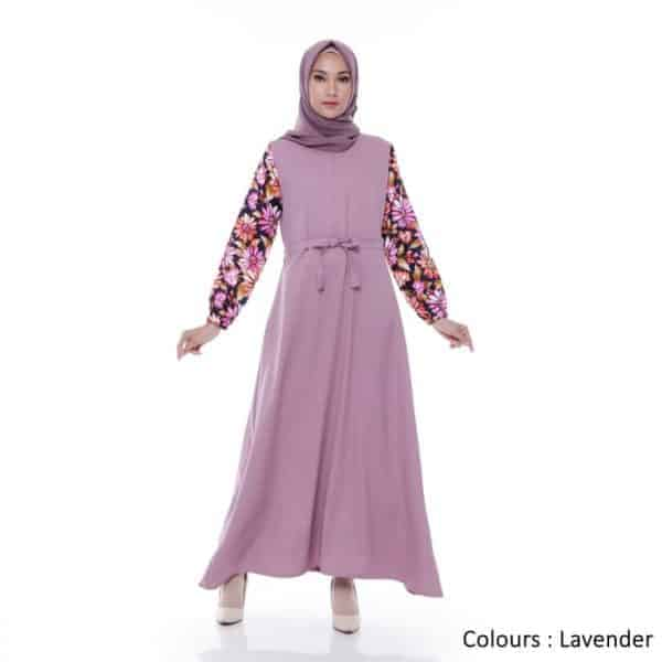Gamis Wanita Amelia Maxi New Colours Original