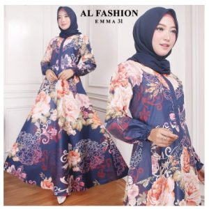 Maxi Emma 31 Al Fashion Gamis Long Dress Original