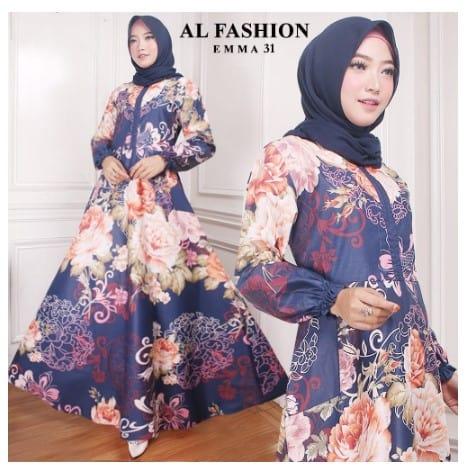 Maxi Emma 31 Al Fashion Gamis Long Dress Original