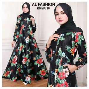 maxi emma 38 al fashion gamis long dress original