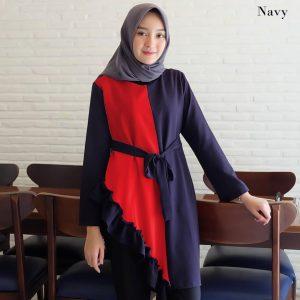 baju tunik wanita muslimah tania tunik