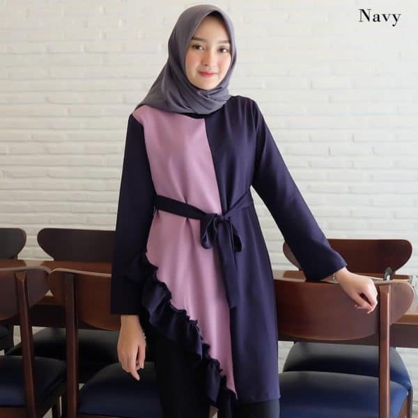 model baju wanita terbaru tanah abang tania tunik